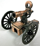 Gatling Gun Die Cast Metal Collectible Pencil Sharpener Design 1
