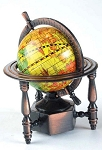 World Globe Die Cast Metal Collectible Pencil Sharpener Design 1