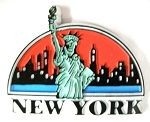 New York City Statue of Liberty Fridge Magnet Design 1