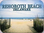 Rehoboth Beach Fridge Magnet Design 26