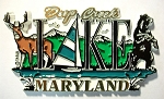 Deep Creek Lake Maryland Fridge Magnet Design 27