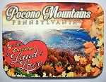 Pocono Mountains Pennsylvania Photo Fridge Magnet Design 26