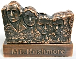 Mount Rushmore Die Cast Metal Collectible Pencil Sharpener