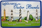 Lighthouses of the Outer Banks North Carolina Souvenir Playing Cards Design 10
