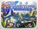 Mt. Rainier Washington Photo Fridge Magnet Design 26