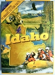 Idaho Souvenir Playing Cards Design 1