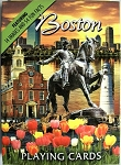 Boston Massachusetts Souvenir Playing Cards Design 1