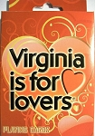Virginia is for Lovers Souvenir Playing Cards Design 27
