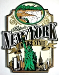 Historic New York the Empire State Fridge Magnet Design 27