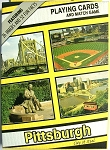 Pittsburgh 4 Scenes Souvenir Playing Cards Design 1