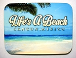 Cancun Mexico Life's a Beach Collage Fridge Magnet Design 26