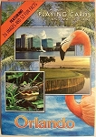 Orlando Florida Souvenir Playing Cards Design 1