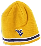 West Virginia Mountaineer's Gold Beanie -NCAA