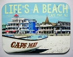 Cape May New Jersey Life's a Beach Photo Fridge Magnet Design 26