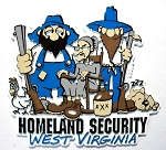 West Virginia Homeland Security Fridge Magnet Design 27