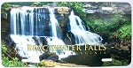 Blackwater Falls West Virginia Summer Picture License Plate Design 25
