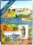 Pennsylvania Souvenir Playing Cards Design 1
