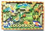Colorado Cartoon Fridge Magnet Design 27