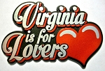 Virginia is for Lovers Fridge Magnet Design 25