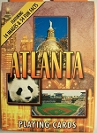 Atlanta with Panda Playing Cards Design 1