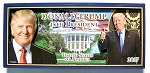 Donald Trump 45th President of the United States Artwood Fridge Magnet