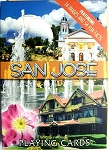 San Jose Souvenir Playing Cards Design 1