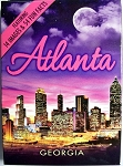 Atlanta Skyline Souvenir Playing Cards Design 1
