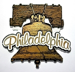 Philadelphia Pennsylvania Liberty Bell Fridge Magnet Design 27