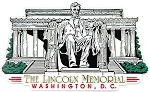 The Lincoln Memorial Washington D.C. Fridge Magnet Design 30