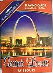 Saint Louis Missouri Souvenir Playing Cards Design 1