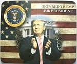 Donald Trump 45th President of the United States Mouse Pad