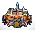 Philadelphia Pennsylvania Skyline Fridge Magnet Design 27