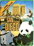 San Diego with Panda Souvenir Playing Cards Design 1