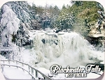 Blackwater Falls West Virginia Winter Photo Fridge Magnet Design 26