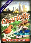 Charlotte North Carolina Souvenir Playing Cards