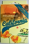 California Souvenir Playing Cards Design 1