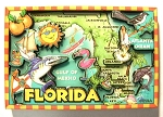Florida Cartoon Magnet Fridge Design 27