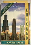 Chicago Souvenir Playing Cards Design 1