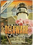 Delaware with Lighthouse Souvenir Playing Cards Design 1