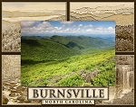 Burnsville North Carolina Laser Engraved Wood Picture Frame (5 x 7)