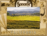 Sonoma California Laser Engraved Wood Picture Frame (5 x 7)