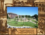 The University of Memphis Laser Engraved Wood Picture Frame (5 x 7)