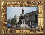 Dublin Ireland Laser Engraved Wood Picture Frame (5 x 7)