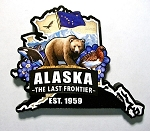 Alaska Classic Artwood Jumbo Fridge Magnet Design 12