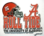 Alabama Crimson Tide Helmet 15 Magnet-NCAA