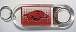 Arkansas Razorbacks Bottle Opener Keychain-NCAA