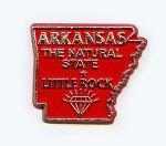Arkansas The Natural State Outline Magnet