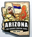 Arizona Classic Artwood Fridge Magnet Design 12