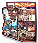 Arizona State Collage Fridge Acrylic Fridge Magnet Design 26