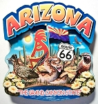Arizona Montage Artwood Fridge Magnet Design 16
